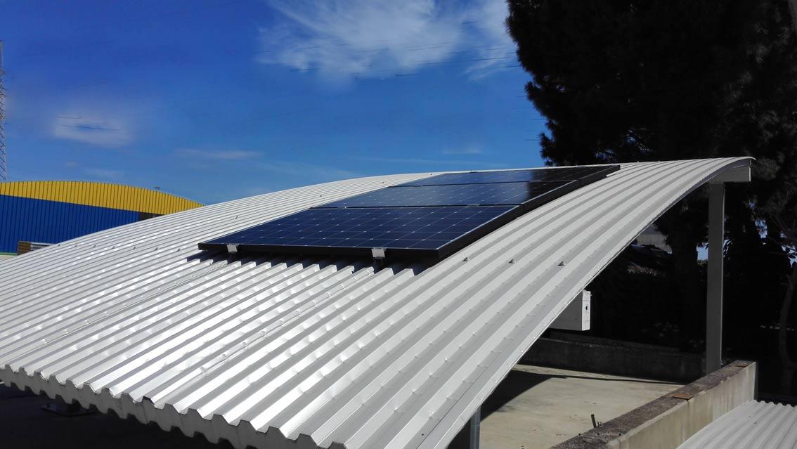 Fotovoltaico e i curvi di Medacciai